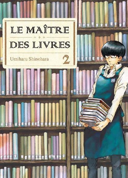 Couverture Le maître des livres, tome 02