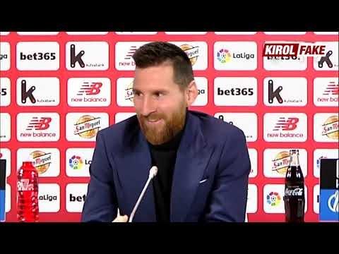 """Leo """"Arkakuso"""" Messi nuevo jugador del Athletic Club"""