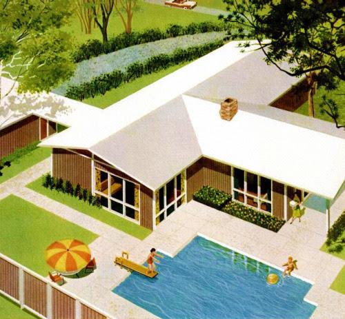 Suburban Backyard Paradise