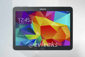 Samsung Galaxy Tab 4 10.1 leaks in black and white