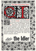 The Idler via Exact Editions