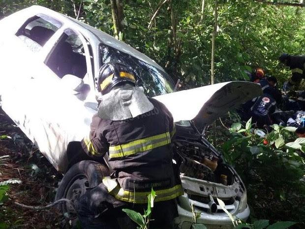 Acidente deixa um homem morto na SP-50 neste domingo (15) (Foto: Divulgação/bombeiros)