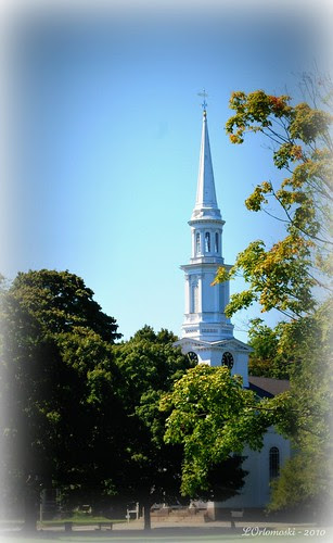 Church on the Lexington Green