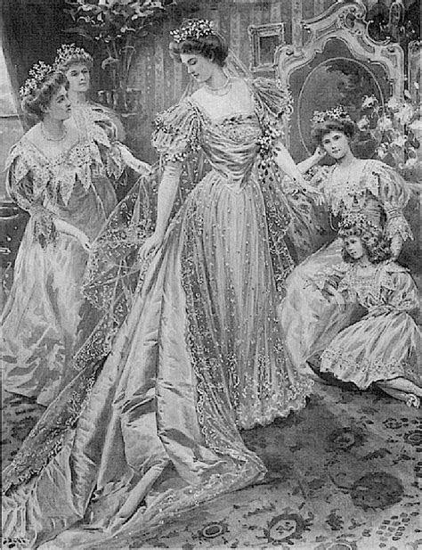 1905 Margaret Connaught Irish lace wedding dress   Royalty