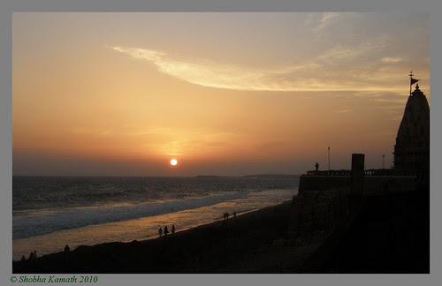 Sunset at Somnath