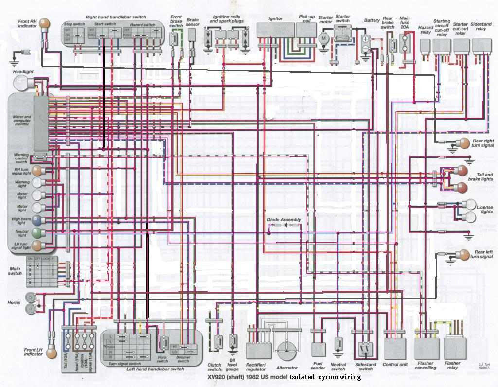 1993 Yamaha Xv535 Wiring Schematic Wiring Diagrams Page Tools Tools Passaggimag It