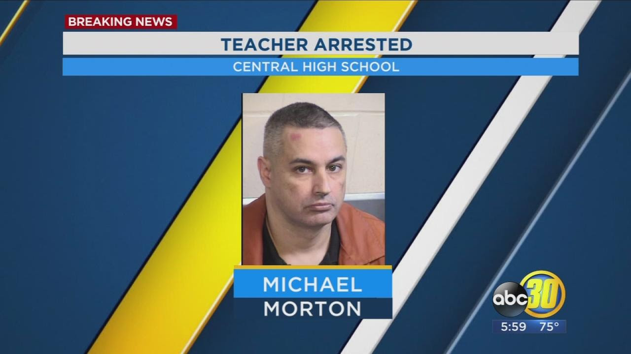 Image result for CENTRAL HIGH SCHOOL TEACHER ARRESTED FOR ALLEGEDLY HAVING SEX WITH A MINOR