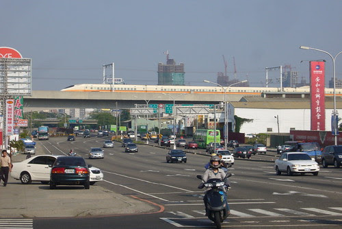 台中港路與高鐵