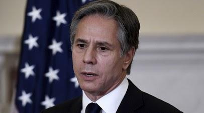 Блинкен провёл переговоры с вернувшимся в США послом Франции