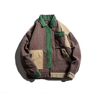 MANGO Jacke aus Baumwoll Cord Gr. 38 M in blau Kleiderkreisel