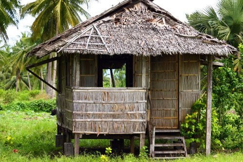 A Bahay Kubo and A Concrete House | exelicris