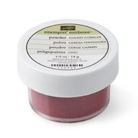 Cherry Cobbler Stampin' Emboss Powder