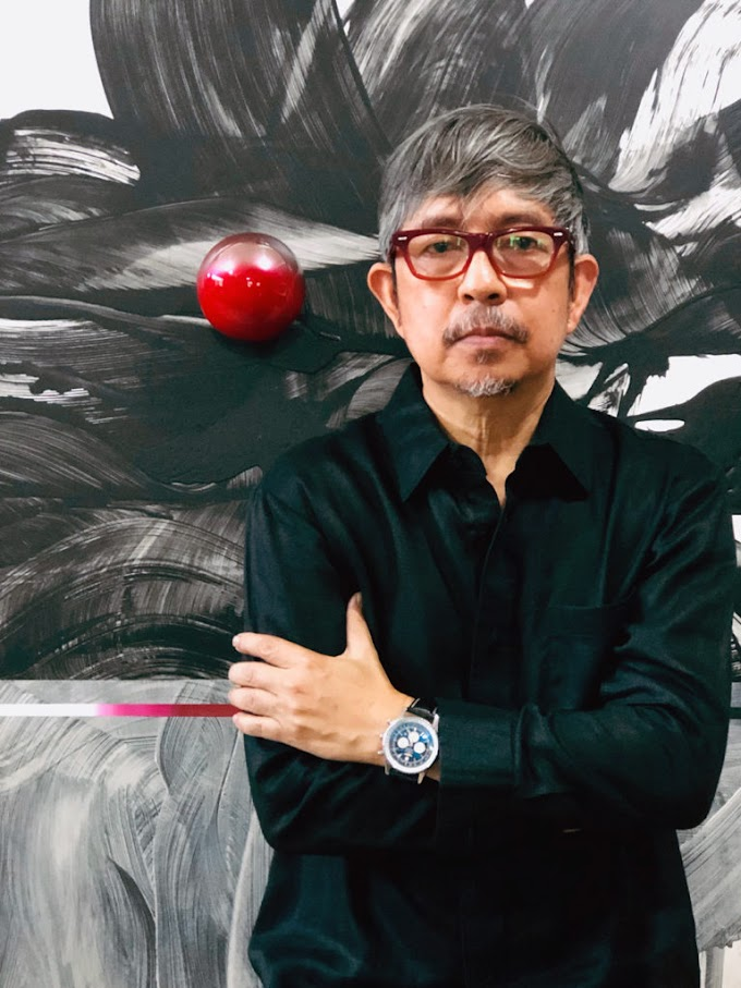 Ross Capili depicts renewed hope through floating metal spheres