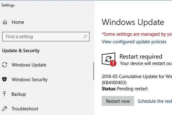 microsoft 1803 update release date