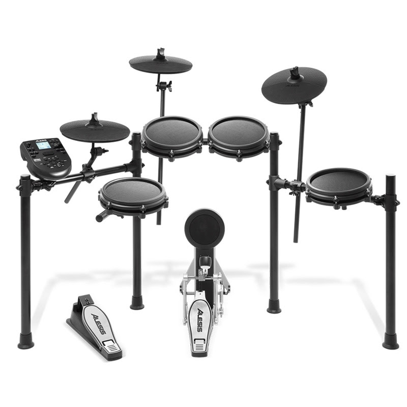 Pitbull Audio: Alesis Nitro Mesh Kit, 8-Piece Electronic Drum Kit with Mesh Heads