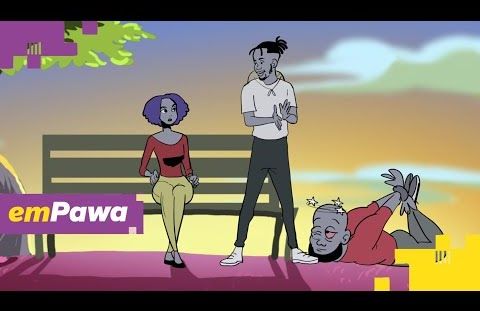 Download or Watch(Officila Visualizer Video) emPawa Africa & Mr eazi – I no go give up on you