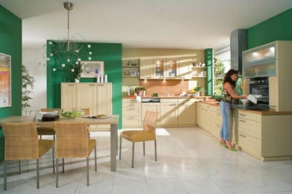 Welche Farbe Für Küchenmöbel Streichen   Wandfarben Fürs ...