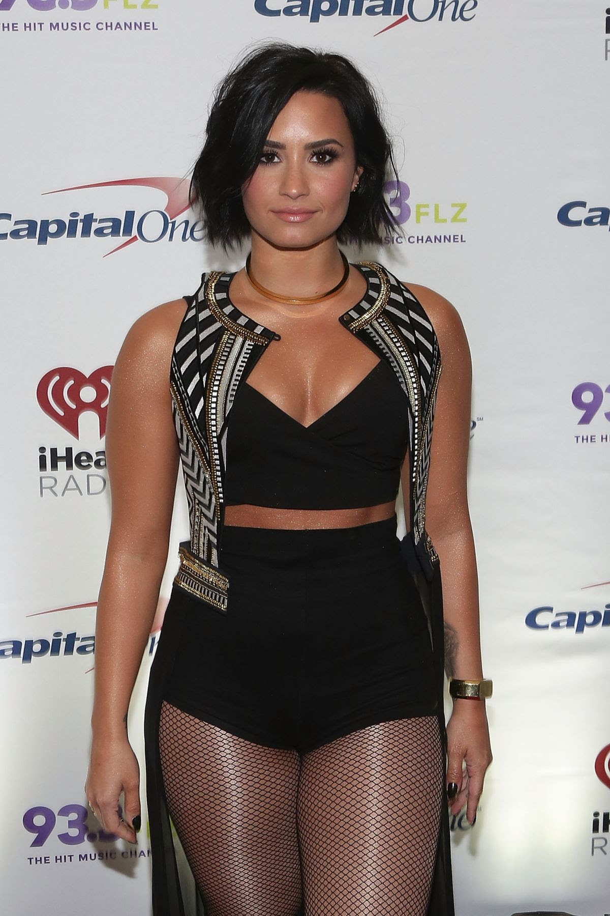 DEMI LOVATO at 93.3 FLZ