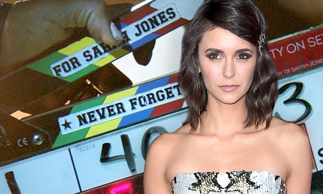 Nina Dobrev bids The Vampire Diaries farewell | Daily Mail Online