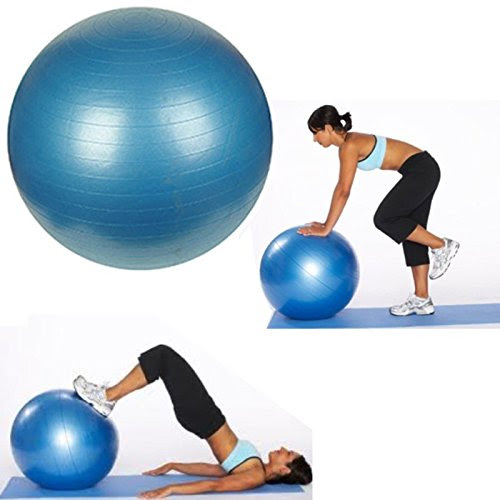 Anti Burst 85cm Exercise Fitness Aerobic Exercise Ball - BLUE
