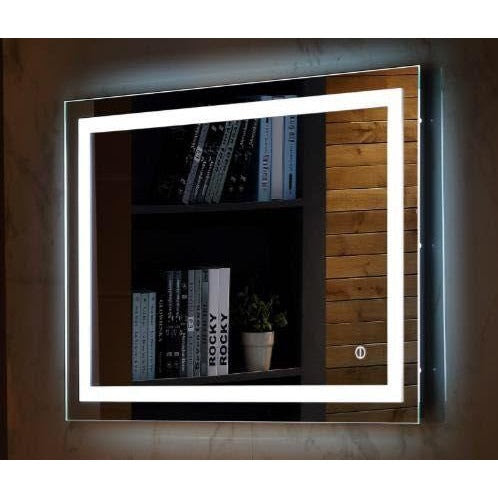 Wall Mount Touch Led Light Mirror Smoky Mtn Shop