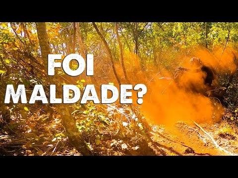 Trilha entre amigos no Tocantins; muita pedra e poeira