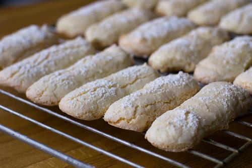 Savoiardi küpsised / Savoiardi biscuits