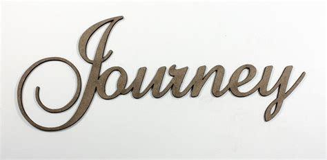 Journey   Fancy Chipboard Word   Want2Scrap