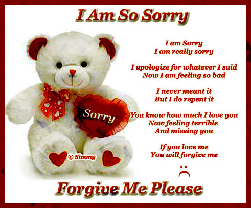 So Sorry Free I Am Sorry Ecards Greeting Cards 123 Greetings