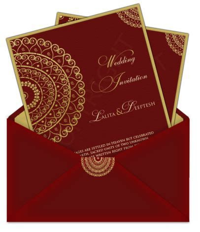 Top Indian Wedding Invitation Cards   Marriage Card