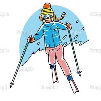 無料イラスト写真 スキー601981 素材集 テンプレートbank