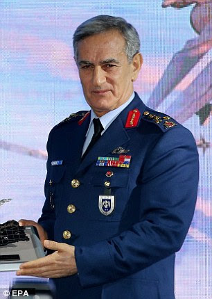 Former Turkish air force chief Akin Ozturk has confessed to prosecutors his role in plotting the coup that attempted to topple the government over the weekend, the state-run Anadolu Agency reports