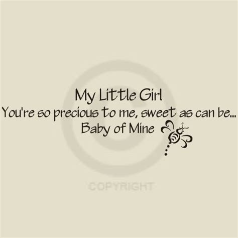 My Little Baby Girl Quotes Archidev
