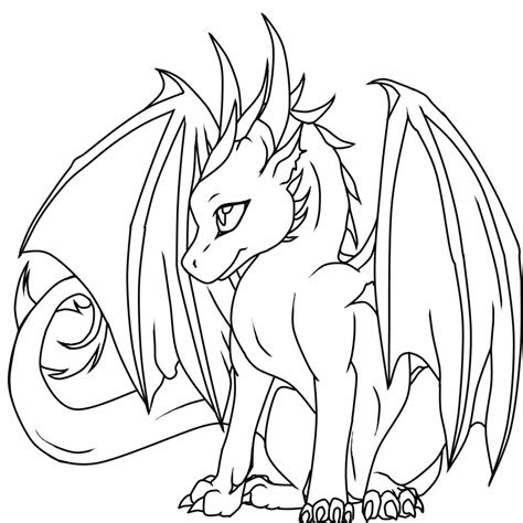coloring pages female dragon coloring pages