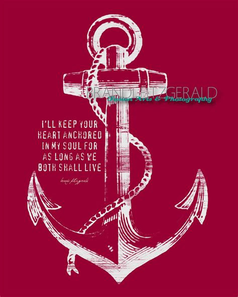 Love Is Like An Anchor Quotes