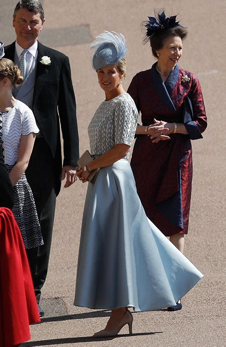 The Countess of Wessex looks stunning in grey at the royal