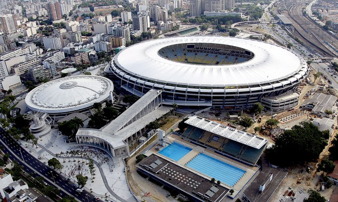 estádio Maracanã chamada TR (Foto: Cezar Loureiro / Agência O Globo)