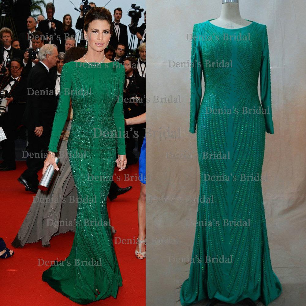 Long sleeve evening dresses online