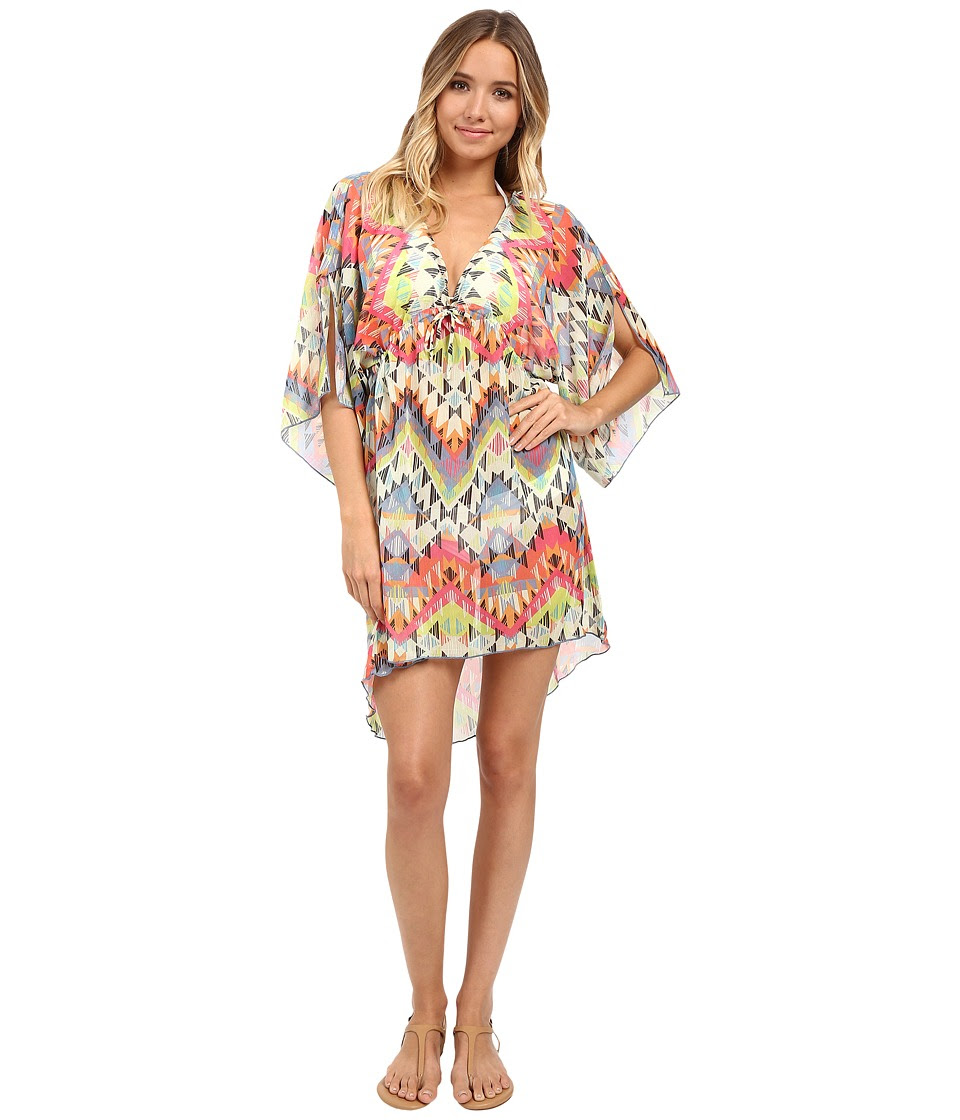 BECCA by Rebecca Virtue - Cayenne Tunic Cover-Up (Multi) Women's Swimwear