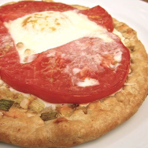 Zucchini, Tomato & Egg Tart