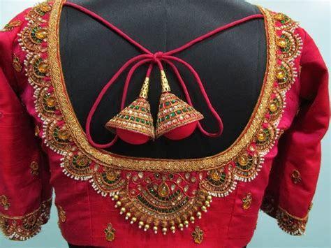 Blouse Designs for Wedding Silk Sarees   bridal blouses