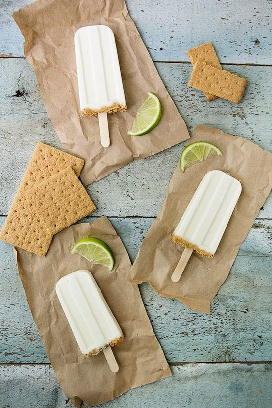 Key Lime Pie Popsicles | Attune Foods