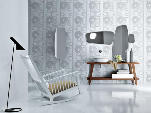Mueble portalavabo - Menhir - Paola Navone, decoracion, diseño, baños