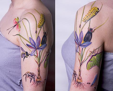 Tattoos Skin on Wasserfarben Artigen Tattoos Von Skin Fallen Nicht Darunter Da Sie