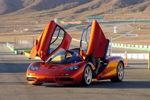 McLaren F1 Fastest Supercars