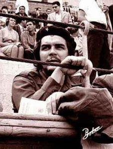 El Che en una plaza de toros.