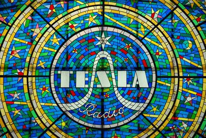 Tesla Stained Glass