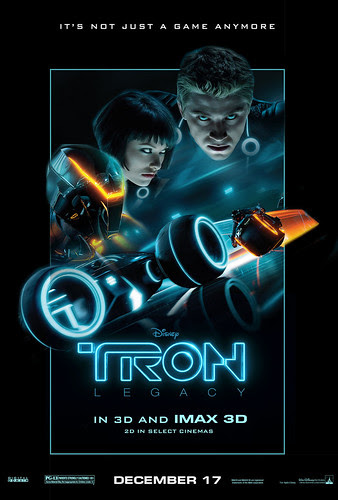 Tron Legacy 3D Movie Poster