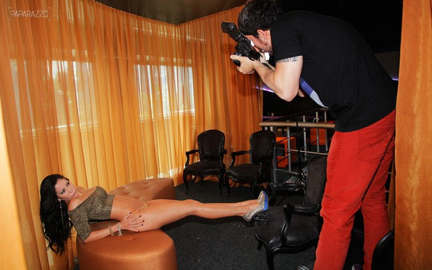 Paparazzo Michele Umezu Making of (Foto: Alexandre Campbell/Paparazzo)