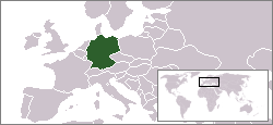 Lokasi Jerman